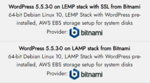 bitnami wordpress lamp lemp ssl