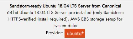 sandstorm-ready ubuntu-listing