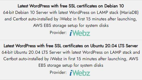 iwebz wordpress lamp debian ubuntu